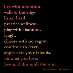 livewithintention