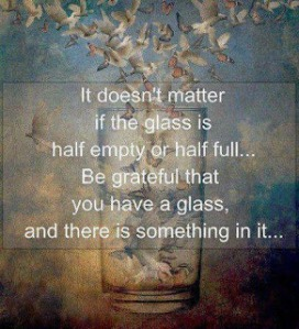 Glass be grateful